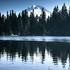 Mirror Lake and Mt. Hood - Mount Hood National Forest, OR