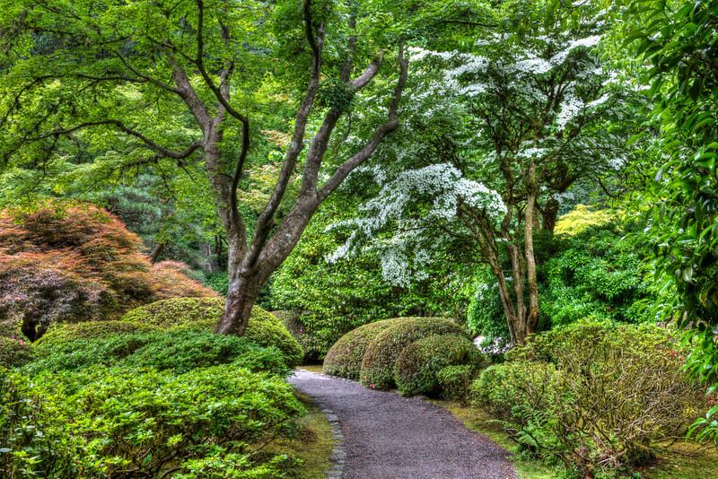 Garden Path - Portland Japanese Garden, OR