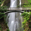 Benson Bridge at Multnomah Falls - Columbia River Gorge, OR