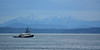 Tugboat on the Sound