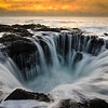 Thor's Well along the central Oregon coast