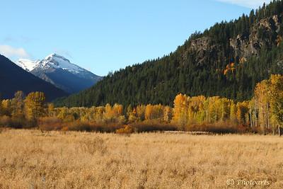 """Autumn in the Cascades"""