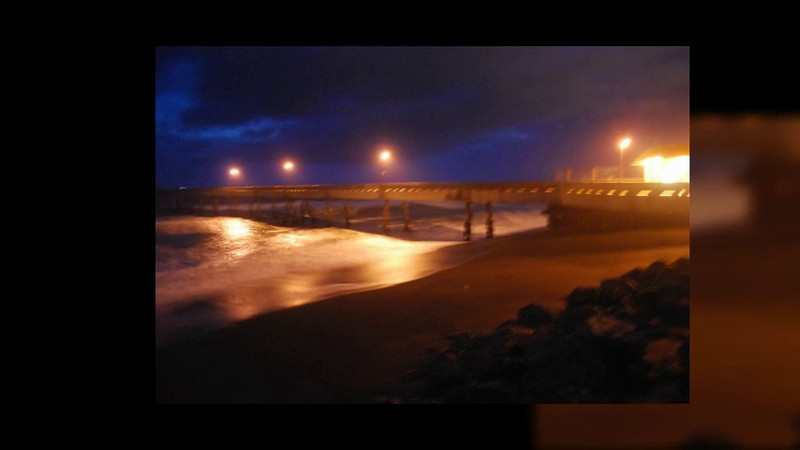 Pacifica Pier after sunset
