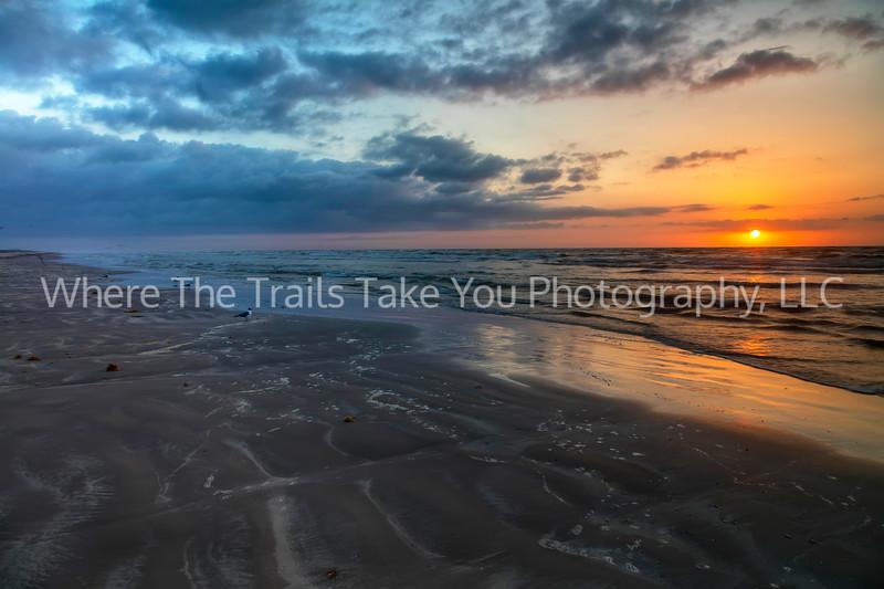 3.  Sunrise At The Beach