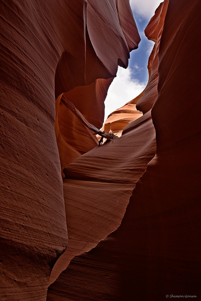 Escape Route, Lower Antelope Canyon - Page, Arizona