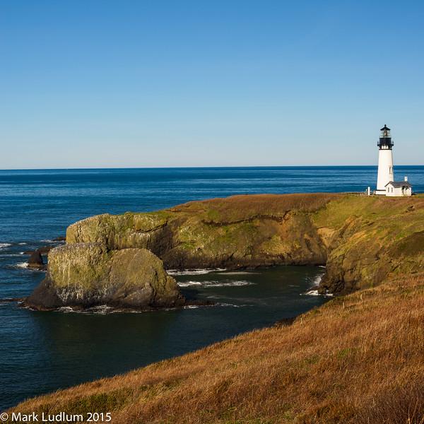 Yaquina Head Lighthouse Oregon 02-2015
