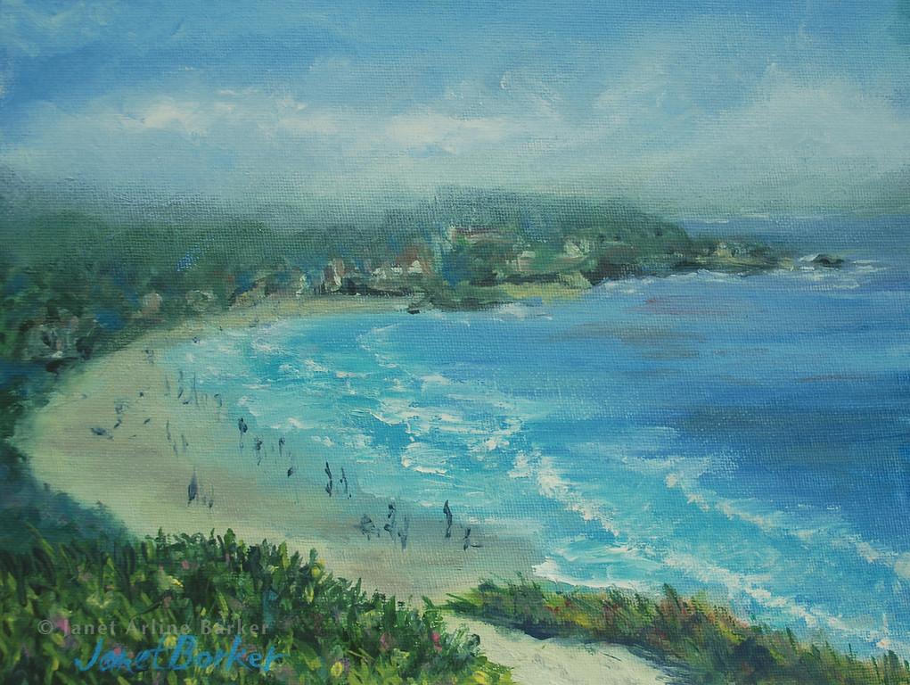 Carmel Beach 5-1-10-9x12