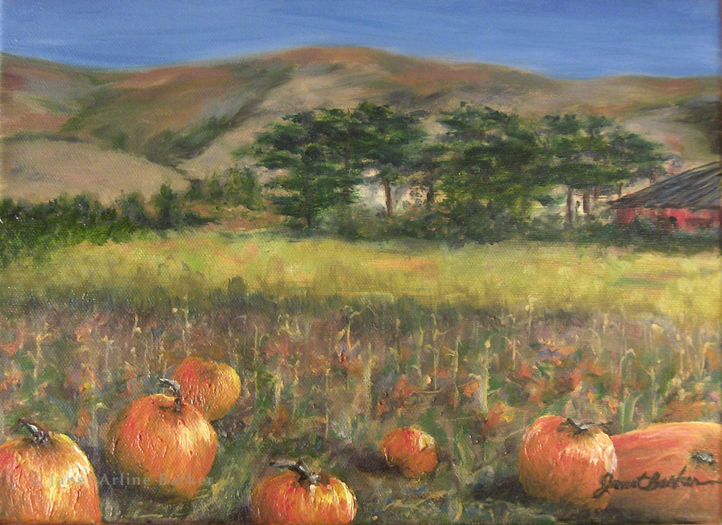 The Pumpkin Patch 9x12-entry