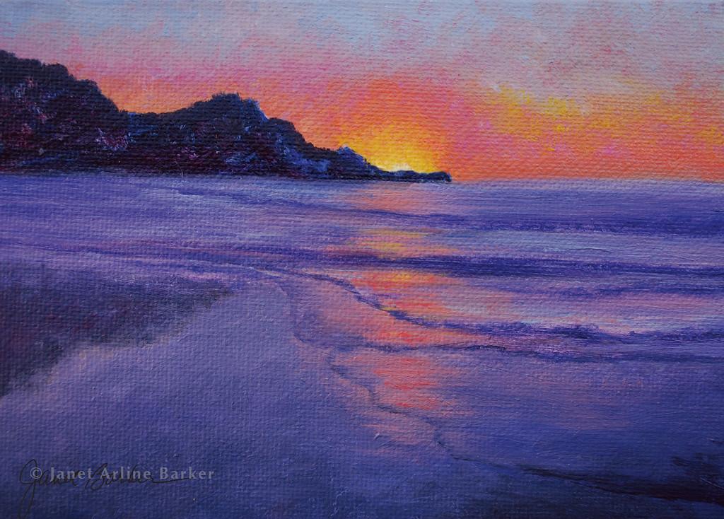 Sunset Pedro Point 7x5-sig