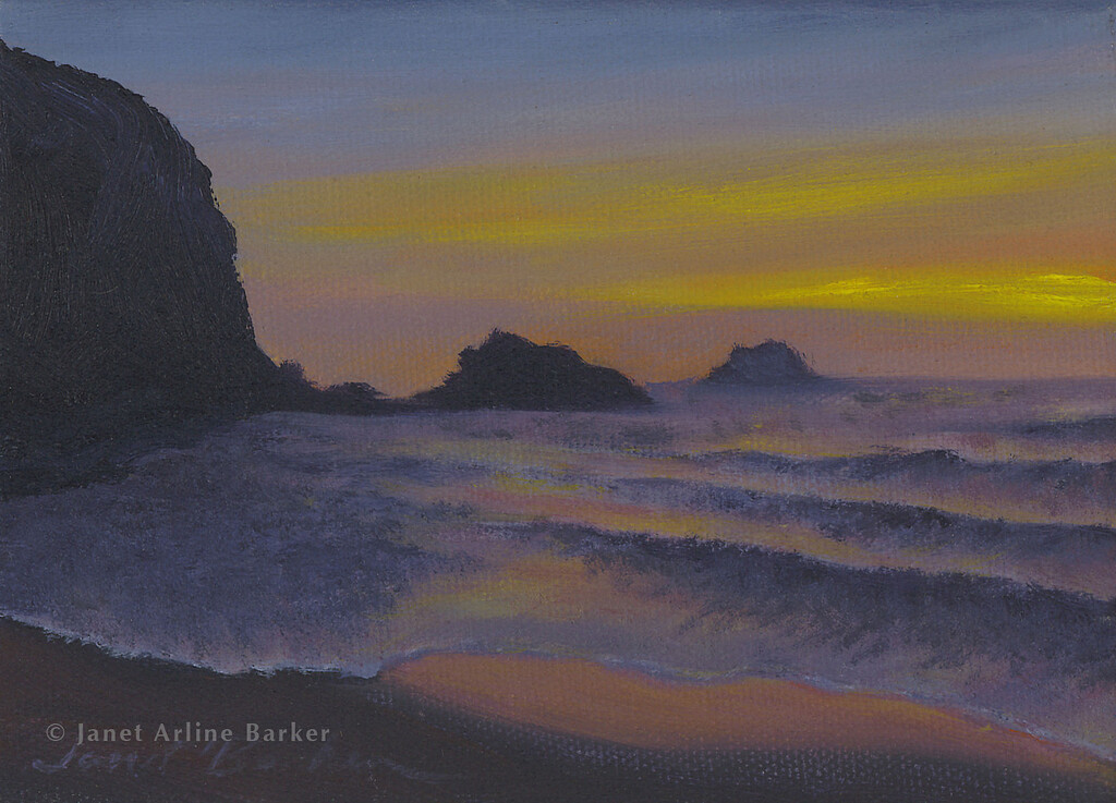 PACIFICA SUNSET-5x7