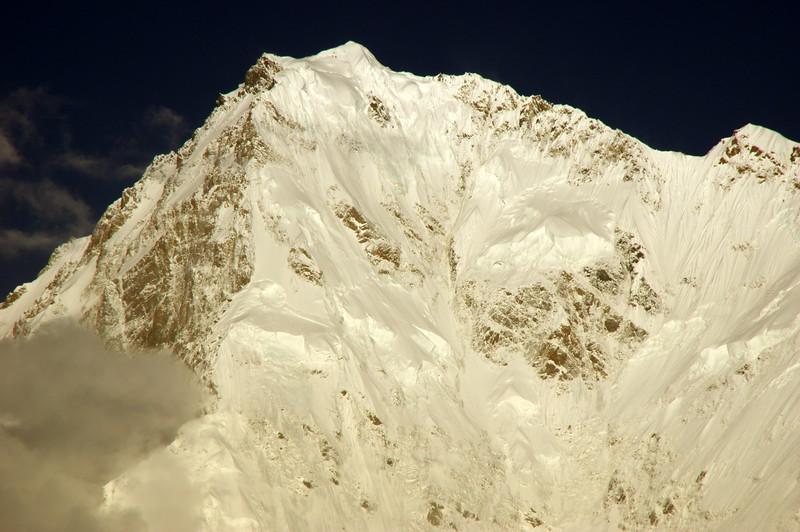 A 4500 Meter vertical backdrop - The Rupal Face of Nanga Parbat