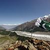 View from Beyal viewpoint to the Greater Karakorum Range including Rakaposhi