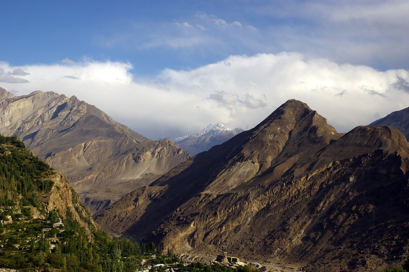 View from Baltit to Altit, Hunza