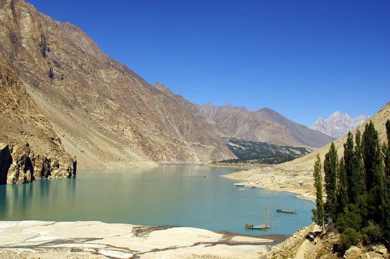 Attabad Lake, found in 2010
