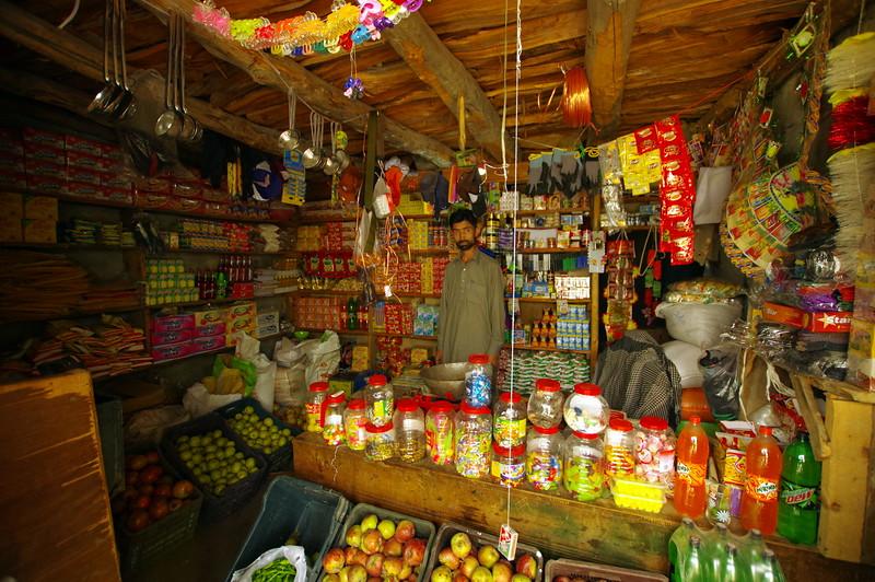 The supermarket in Upper Rupal Village