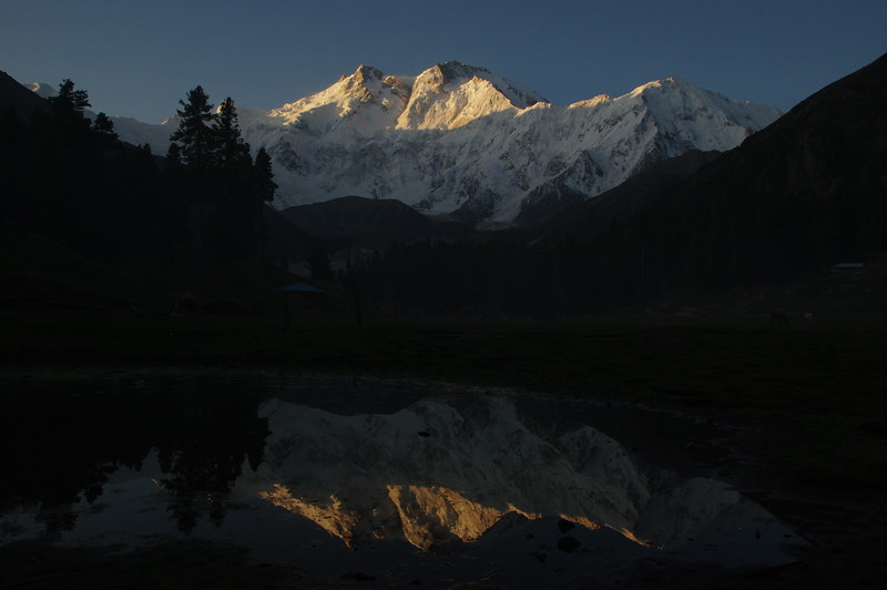 Reflections at Fairy Meadows