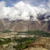 Minapin - one of the rather tiny villages in the Karakoram range