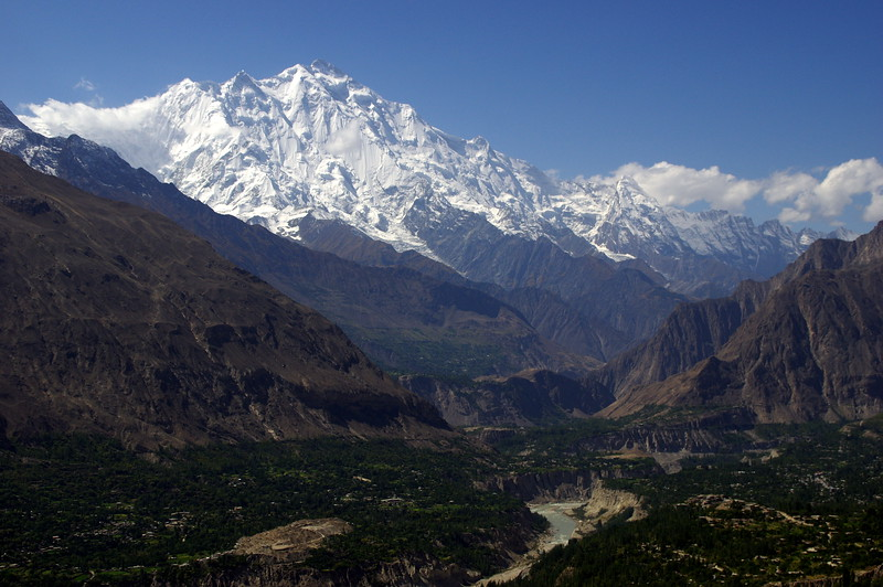 Welcome to Hunza -  exquisite views of Rakaposhi (7788m) guaranteed!