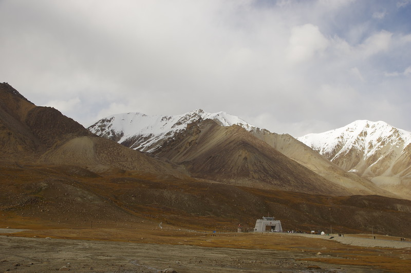 The Kunjerab - Pass....beginning of the Pamirs and road to Kashgar