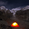 Camping in the Throne Room of the Mountain Gods - Ultar Meadow with view to Bublimotin, Hunza Peak, Ultar 1 and Ultar 2