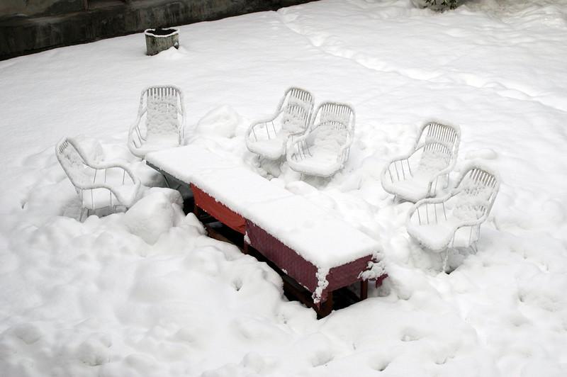 Blizzard in Tarshing