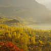Fall in the Hunza Valley -  a new dimension of light
