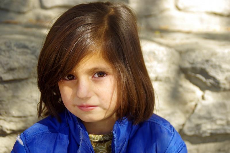 Hunza girl in Karimabad - home of Hunzukutz hospitality