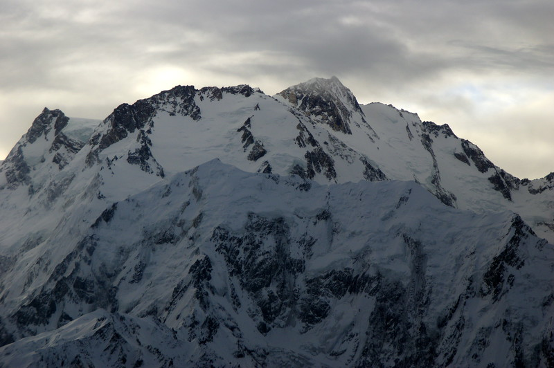 Diamir - King of the mountain as seen from the cockpit on the flight from Islamabad to Gilgit