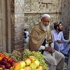 The Bazaar district in Peshawar