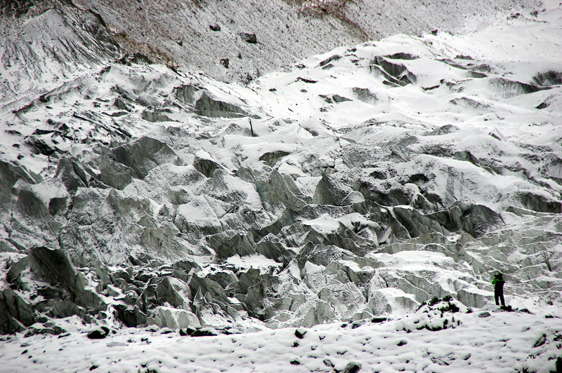 Rakaposhi Basecamp - the manifestation of snow and ice