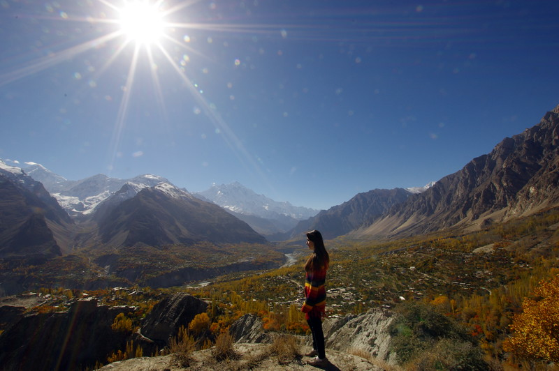 The Hunza Valley in fall - a daydreamers paradise