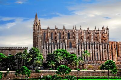 Le Seu Cathedral-Palma de Mallorca (Balearic Islands), Spain