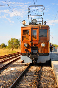 1929 Soller Train-Palma de Mallorca, Spain