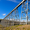On the way to  Palouse Falls you pass under the Union Pacific Railway bridge over the Snake River at Lyons Ferry.