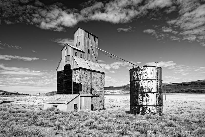 Derelict Grain Silo