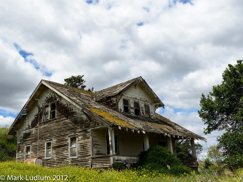 Palouse Abandoned Farm House 06-1012