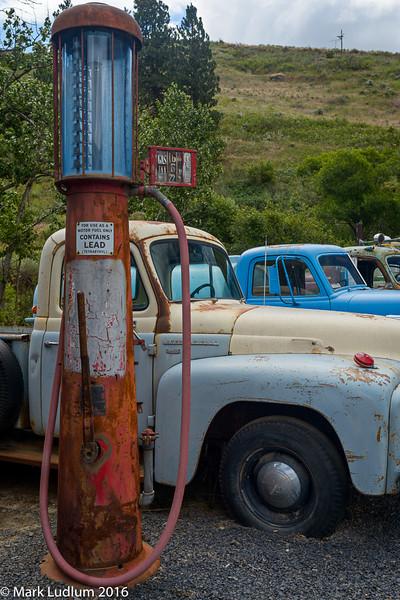 Old Gas Pump Palouse 2016