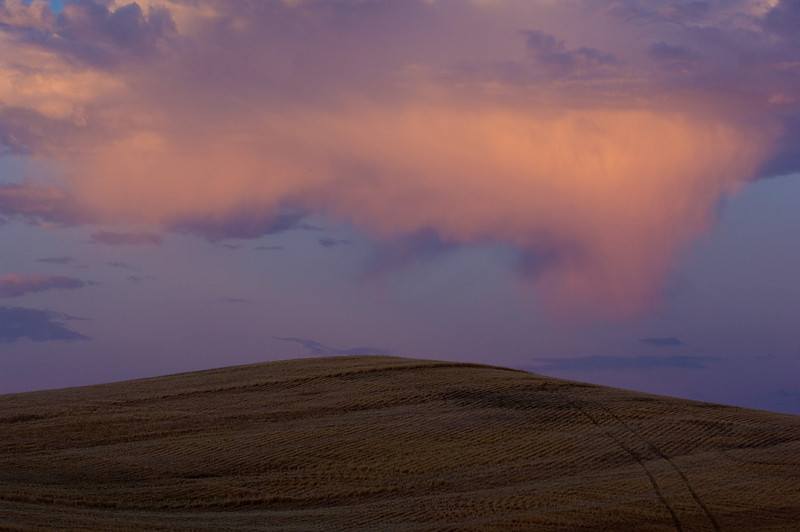 Sunset in the Palouse