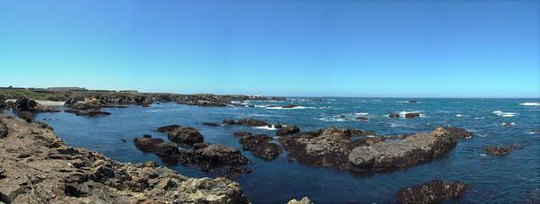 Cliffs above Glass Beach