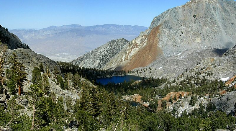 Sawmill Lake, Owens Valley and the eastern edge of the Great Basin, CA
