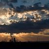 Sunset at the Quit Motorplex Kwinana Western Australia30/01/2009