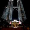 Petronas Towers Kuala Lumpur.