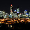 City of Perth, Western Australia from Kings park.