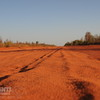 One of the better stretches of road between Broome and Cape Leveque. Kimberley, Western Australia.