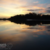 Magnificent reflections on the ord river at sunset.