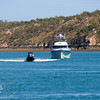 Fisheries Department on patrol in whirlpool passage up in the far North of Western Australia Kimberley region.