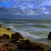 North Beach in Perth Western Australia. Just before sunset.