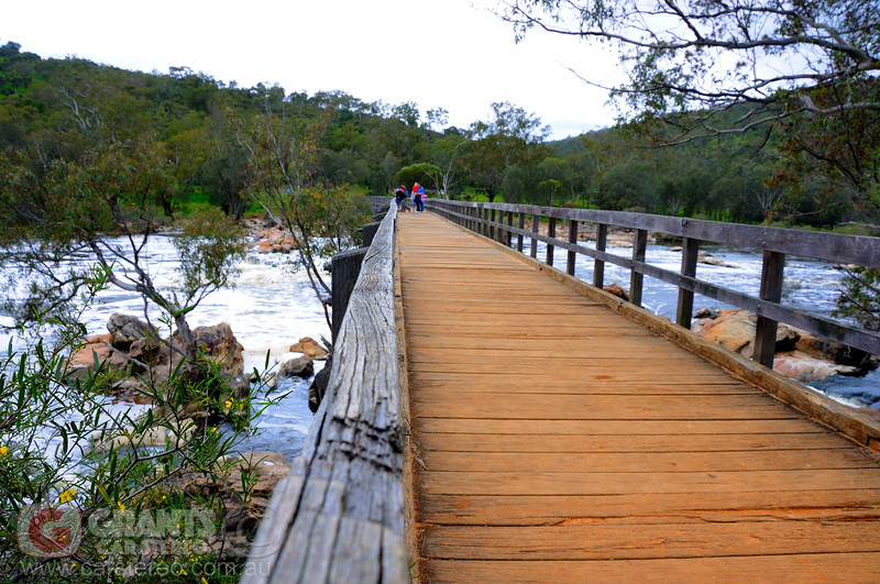 Bridge at Bells rapids in the Swan Valley, Western Australia.