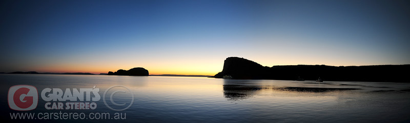 Raft Point in the Kimberley at sunrise.