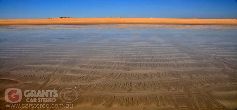 Low tide near Willey Creek. Broome, Westeren Australia.